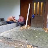 Fundamentierungsarbeiten für den Anbau des Geräteschuppens und Baumschnitt im Oktober 2019 - 2.jpg