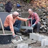 Fundamentierungsarbeiten für den Anbau des Geräteschuppens und Baumschnitt im Oktober 2019 - 6.jpg